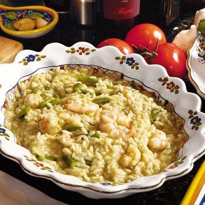 Risotto with Shrimp and Asparagus Recipe - 0 | MyRecipes