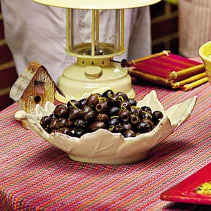 Citrus Party Olives Recipe