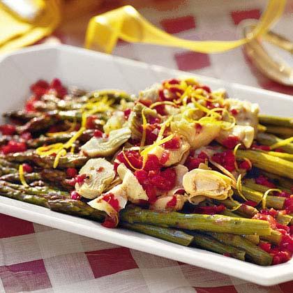 Lemon-Marinated Asparagus
