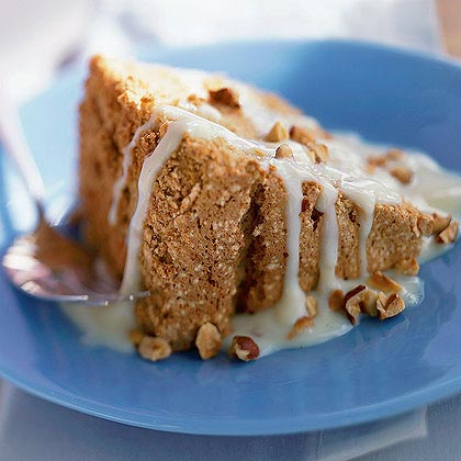 Café au Lait Angel Food Cake