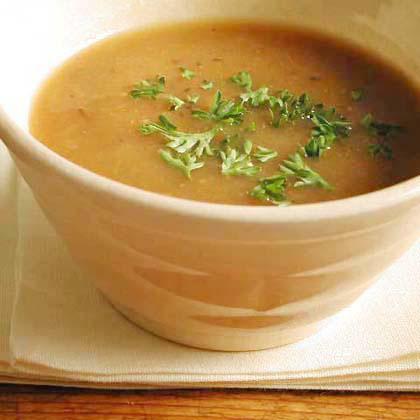 Creamy Roasted-Onion Soup