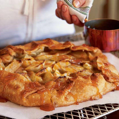 Apple Marzipan Galette
