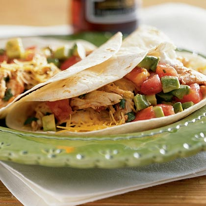 Soft Chicken Tacos Recipe