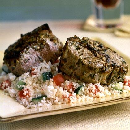 Greek Lamb ChopsRecipe