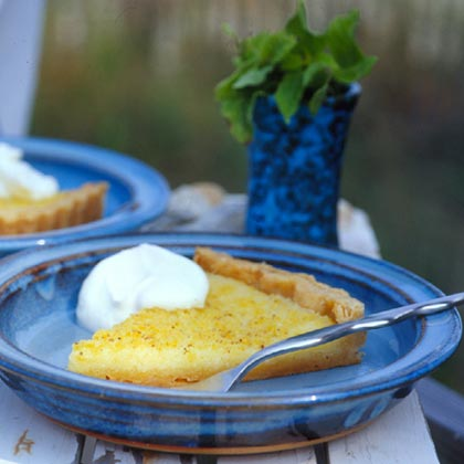 Lemon-Buttermilk Tart Recipe