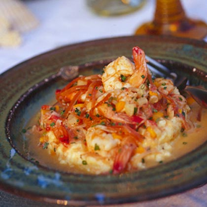 Creamy Shrimp And Grits Recipe Myrecipes Com