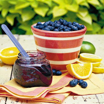 Spicy Blueberry-Citrus Marmalade