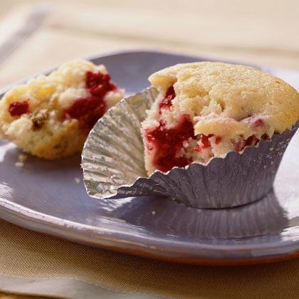 Raspberry-Cream Cheese Muffins