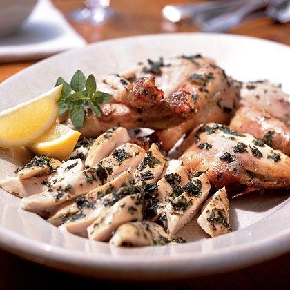 Grilled Herbed Chicken Recipe