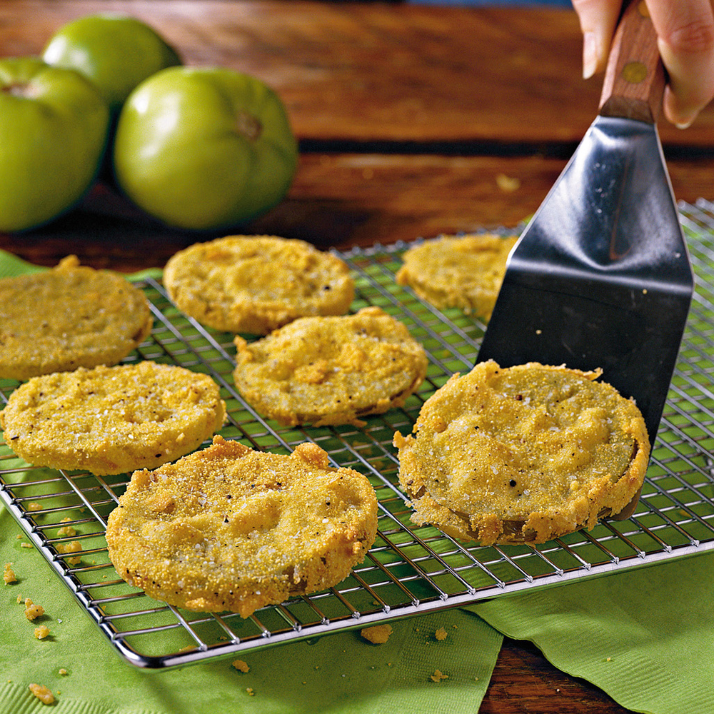 <p>Fried Green Tomatoes</p>