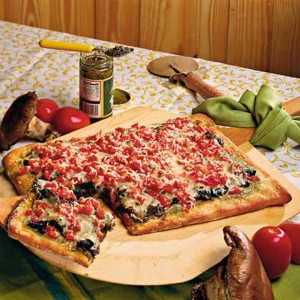 Portobello PizzaRecipe