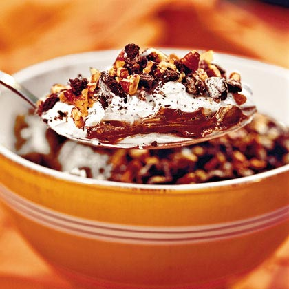 Chocolate Cookie Pudding