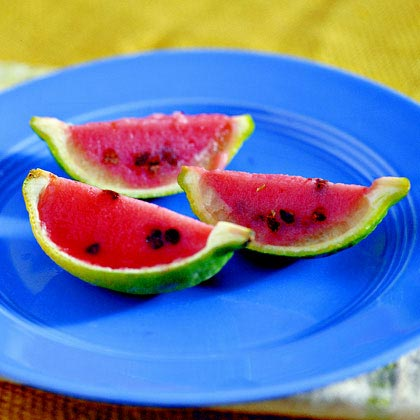 Strawberry-Orange Pops
