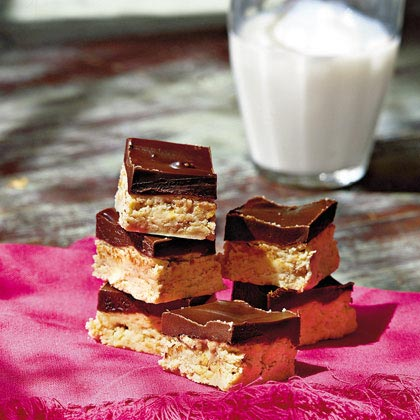 Chocolate-Peanut Bars Recipe