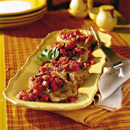 Tuscan Pork Chops
