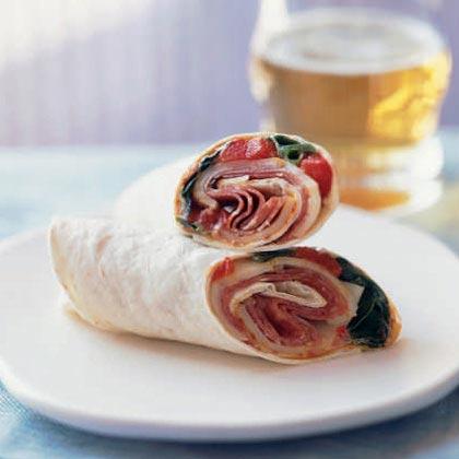 Antipasto Italian Roll-Ups