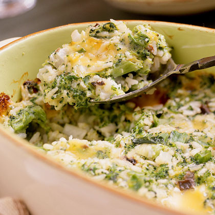 Broccoli, Cheese, and Rice Casserole