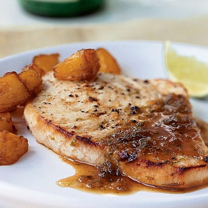 Ginger-Lime Swordfish Recipe