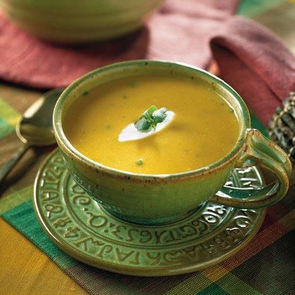 Creamy Southwestern Pumpkin SoupRecipe
