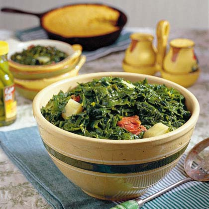 Southern Turnip Greens and Ham HocksRecipe