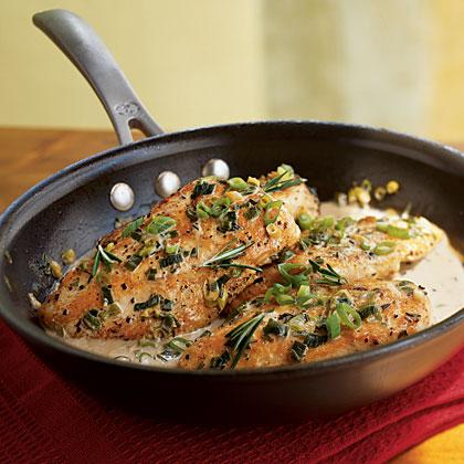 Chicken with Rosemary SauceRecipe