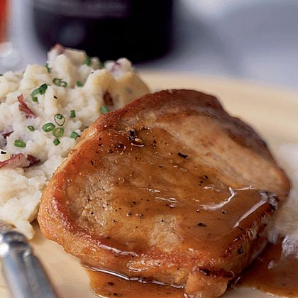 Honey and Spice-Glazed Pork Chops