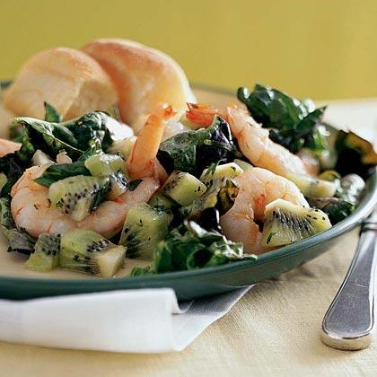 Shrimp and Kiwi Salad