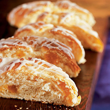 Apricot-Cream Cheese Braid