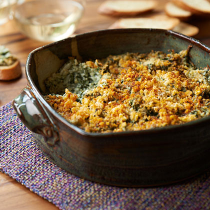 Baked Spinach-Parmesan Dip Recipe