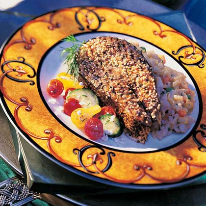 Assyrian Barbecued Salmon