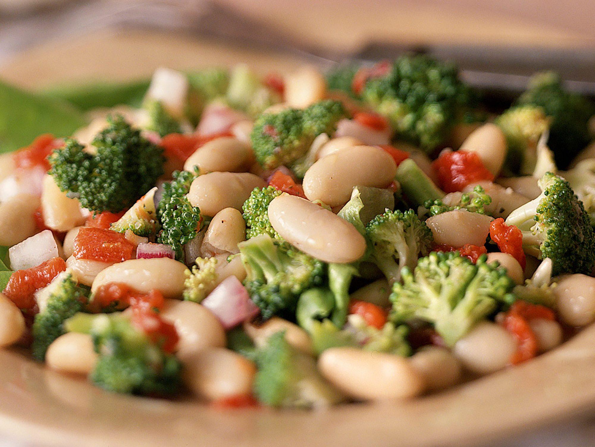 Broccoli-and-Cannellini Bean Salad
