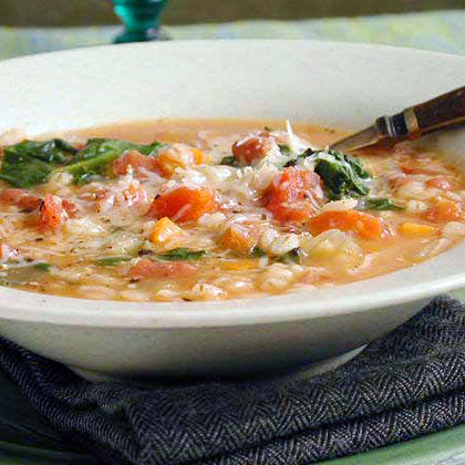 Hearty Bean and Barley Soup