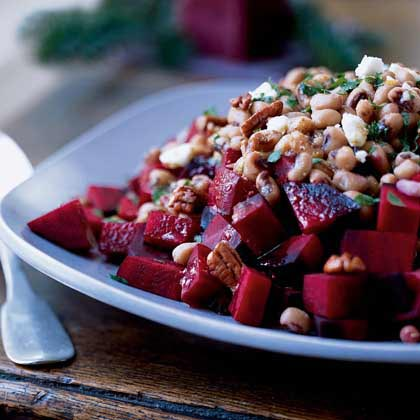Beet and Black-Eyed Pea Salad Recipe