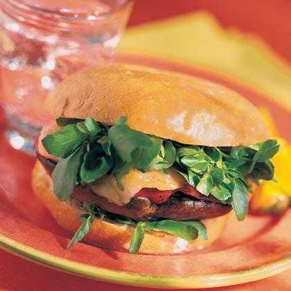 Portabella Burgers Recipe
