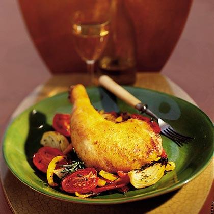 Roast Chicken CacciatoreRecipe