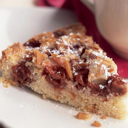 Cherry-Almond Cake Recipe | MyRecipes