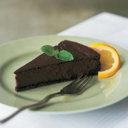 Chocolate-Orange Cheesecake