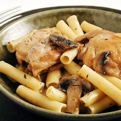 Chicken-Pasta-Mushroom Dish Recipe