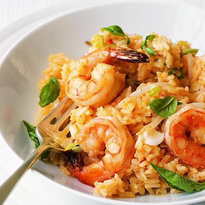 Chili Shrimp and Coconut Risotto