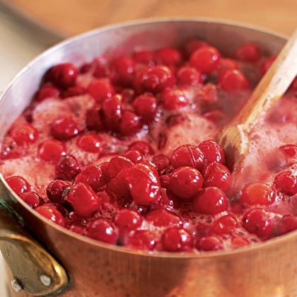 Cranberry Sauce with Apple Cider