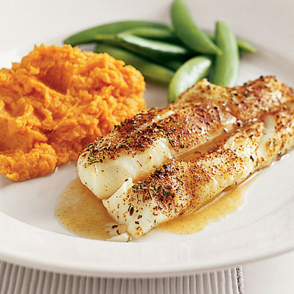 Chili-Roasted Cod