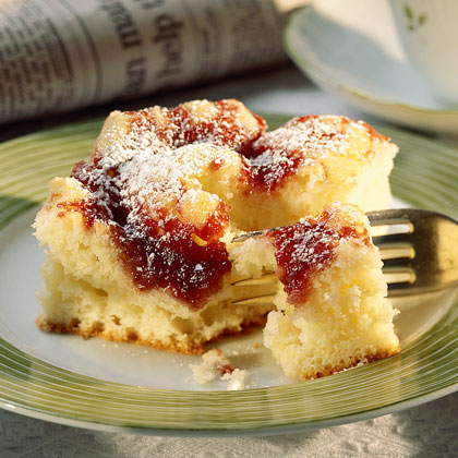 Raspberry Cheese Coffee Cake