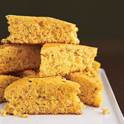 Rosemary Corn Bread Recipe