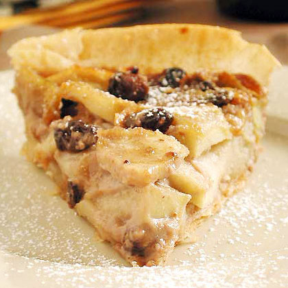 Apple and Walnut Cream Tart