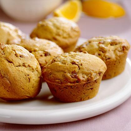 Orange-Date Muffins Recipe