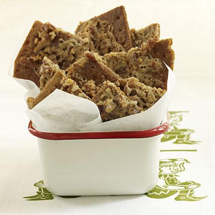 graham cracker treats for Christmas elves