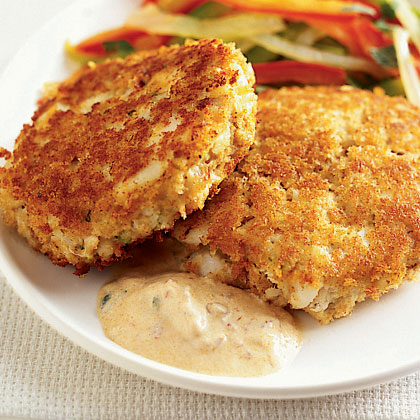Fish cakes recipe myrecipes for How to make fish patties