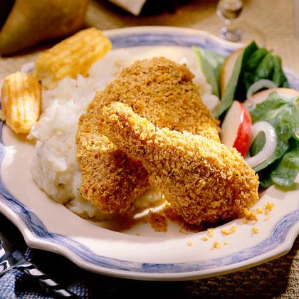 Spicy Oven-Fried ChickenRecipe