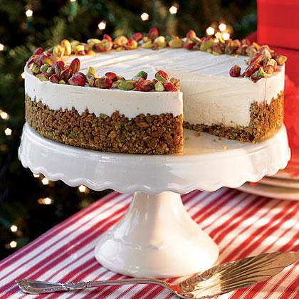 Frozen Pistachio Cheesecake