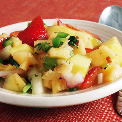 Three-Fruit Salsa Recipe